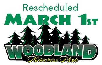 ALERT: Rd 1 Woodland Rescheduled