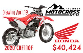 Honda Offers CRF110 at Round 2