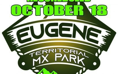 ALERT: Eugene Rescheduled for October 18th